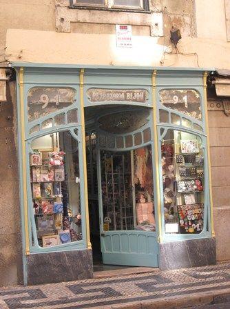 Old fashioned haberdashery Lisbon, Portugal