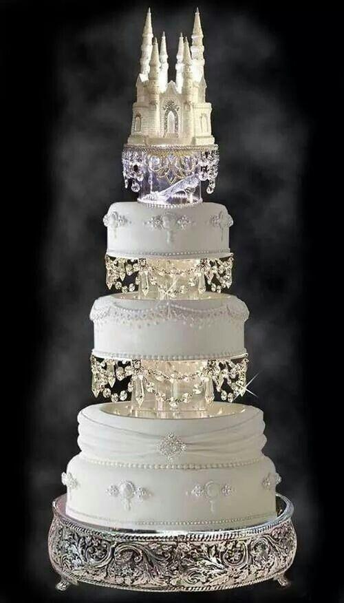 cake para una boda de princesa