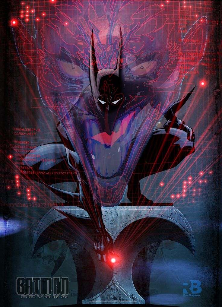 batman beyond | Batman Beyond // pencils, inks and colors by Ryan Benjamin (~ryanbnjmn ...