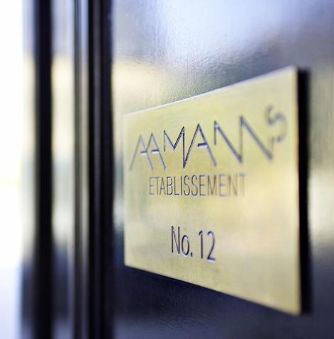 Restaurant - Aamanns etablissemet, frokost- og aftenmenu