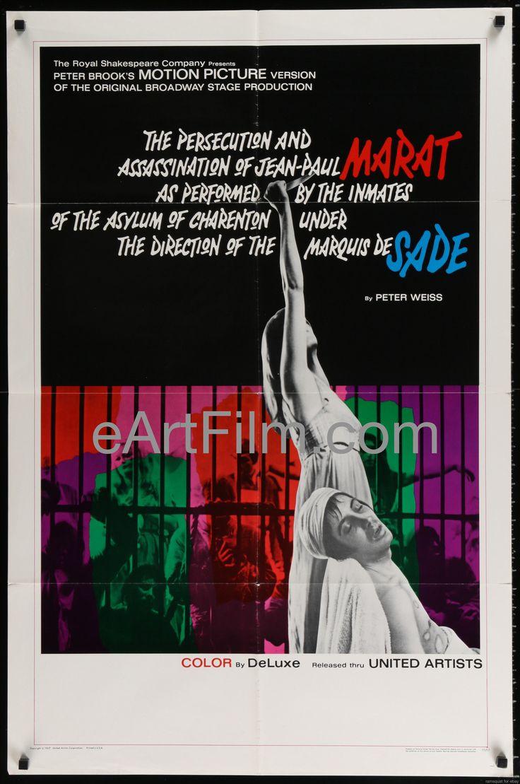 Marat/Sade-Glenda Jackson-Patrick Magee-Ian Richardson-1967-27x41