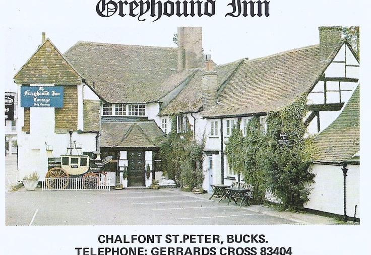 Greyhound Inn, Chalfont St Peter, England.