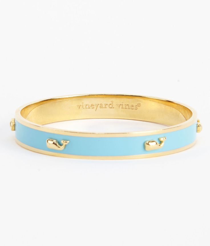 LOVE this! raised icon bangle (can i have all the colors?) | vinyard vines