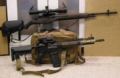 Sniper Rifle & AR-15 | Black rifles | Pinterest