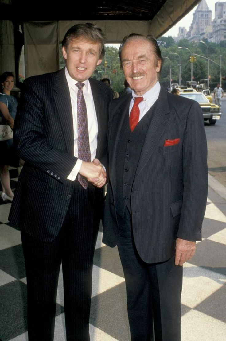 Donald Trump And Dad Fred In 1988 His Father Said