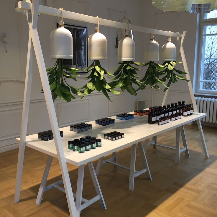 The beauty press & bloggers Natural Nutrition Skin Care Concept launching event, February 2015. A special instalation created by Alexandra Zabunov, a very talented architect for these darling creams available on http://nncosmetics.ro  Favorite projects from this century