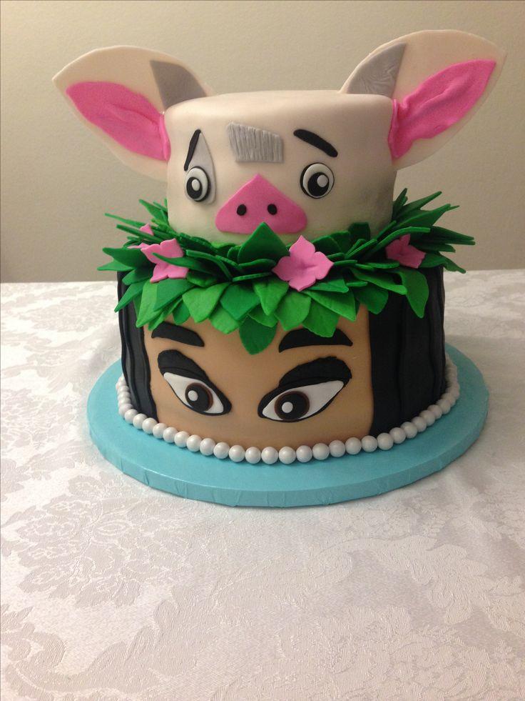 Cake Design Moana : Moana Cake Cakes Pinterest Cake