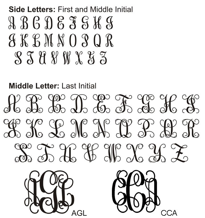 "Vine Monogram Font - ""test drive"" to generate monograms!!!!!!"