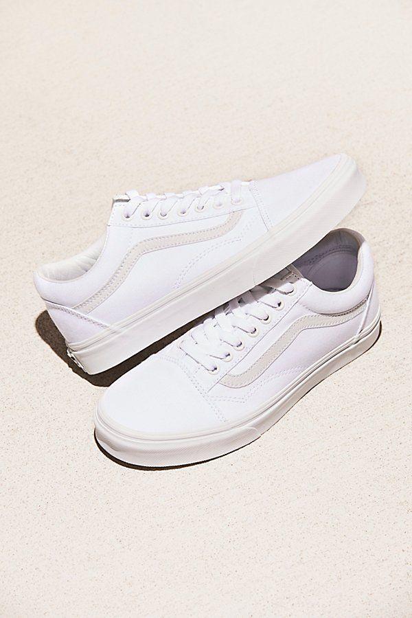 Ua Old Skool Sneakers by Vans at Free People, White, US 6.5