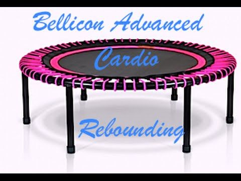 """Hey, Hey, Hey! At 50 years old I am still kicking it! Here it is..My Bellicon Cardio Rebounding workout for the ADVANCED Rebounders! 30 minutes of """"Off the C..."""