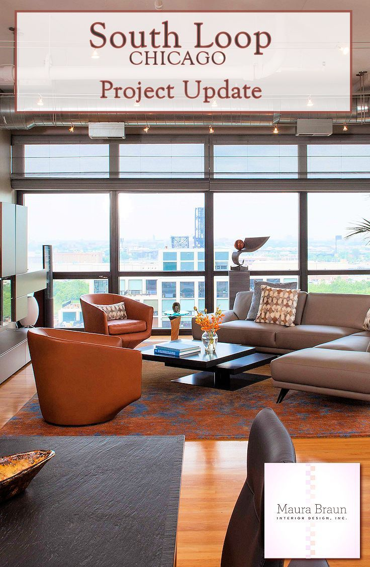 This timber and exposed brick loft home in the South Loop of Chicago was recently designed by Maura Braun Interior Design.  Take a look at the completed project.