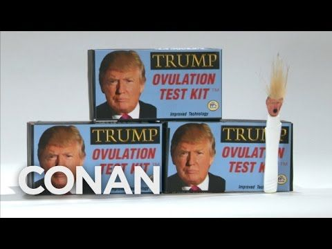 Watch: Conan Roasts 'The Donald' With The 'Trump Ovulation Kit' |