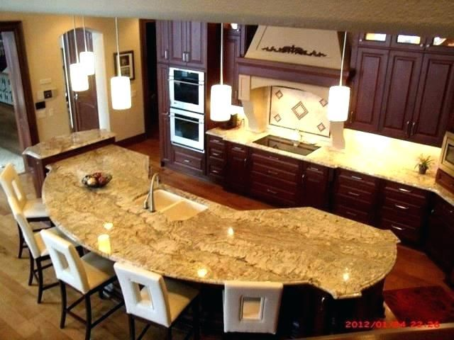 Kitchen Island Countertop Shapes Google Search Kitchen Island