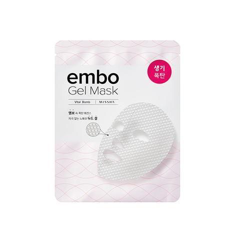 [MISSHA] embo Gel Mask- Vital Bomb (5 PCS)