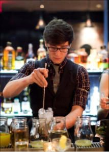 Hire a cocktail bartender in Manchester www.hireabarman.com