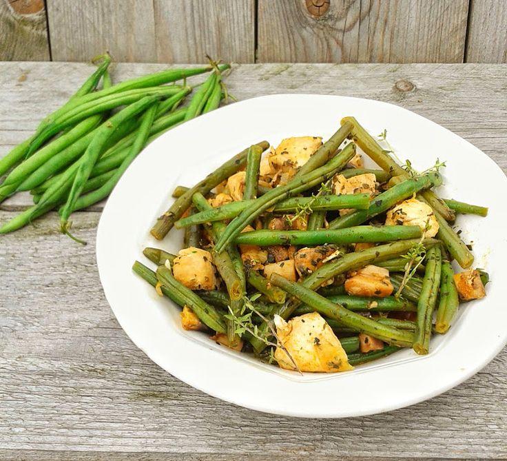 Green bean one pot wonder - a very easy green beans recipe