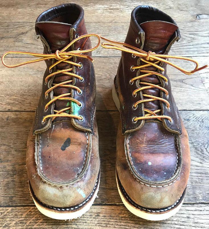 いいね!612件、コメント4件 ― Red Wing Shoe Store Amsterdamさん(@redwingamsterdam)のInstagramアカウント: 「One of the best worn 875's we have had in the store for a while. Did a resole and put a new set of…」