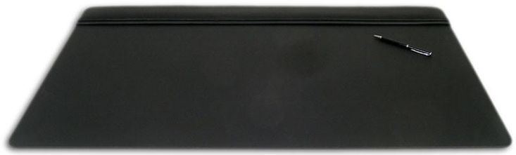 Leather 34x20 Top-Rail Desk Pad P1021 by Decasso