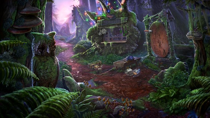 Enigmatis: The Mists of Ravenwood - Square www.artifexmundi.com/page/enigmatis2 #owl #raven #bird #ravenwood #redwood #park #game #adventure https://www.facebook.com/ArtifexMundi.Enigmatis
