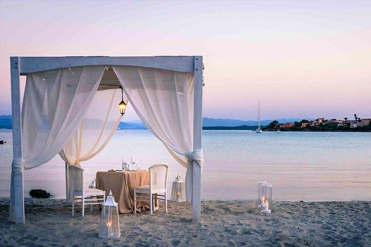 ristorante elegante sul mare Blu Restarant by Myfloreschic