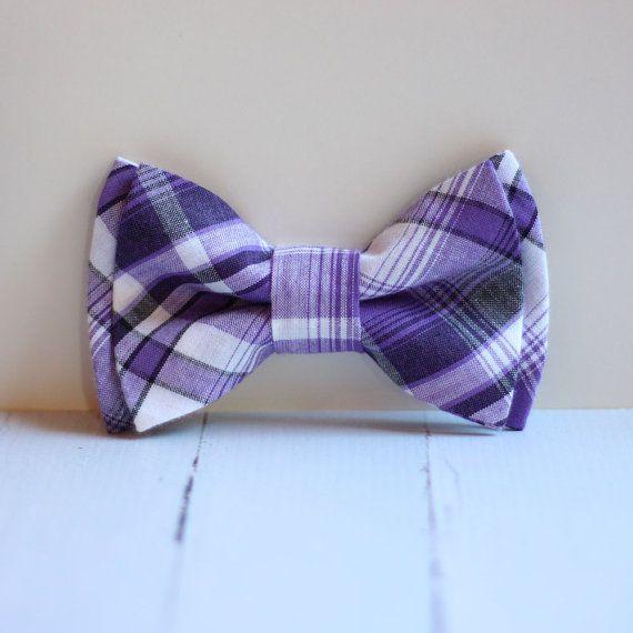 A Purple Bow Tie!