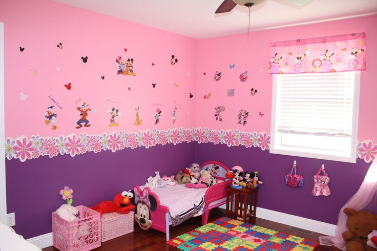 Bedrooms minnie mouse toddlers minnie baby girls bedrooms decor