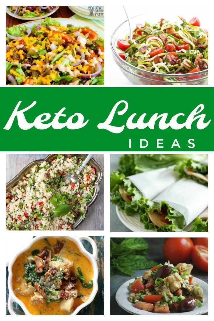 keto lunch ideas for every day of the week | low carb recipes to try
