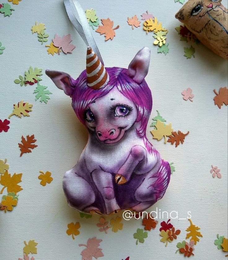 Малышка единорожка Розочка от @undina_s Мягкие тряпичные игрушки- красивый подарок близким или украшение интерьера. #единорог #лошадь #unicorn #игрушкаизткани #текстильнаякукла