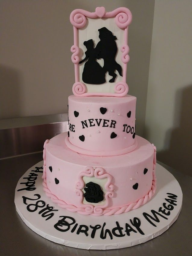 Astonishing Pink Princess Birthday Cake Vintagebakery Com 803 386 8806 In Funny Birthday Cards Online Benoljebrpdamsfinfo