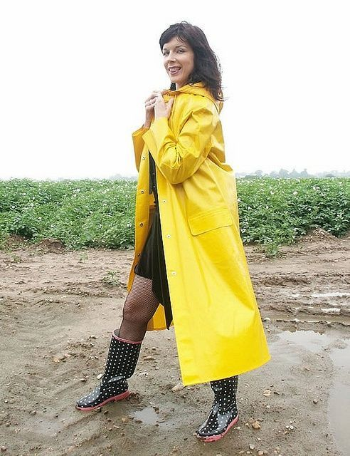 yellow pvc raincoat rukka macs pinterest regenmantel. Black Bedroom Furniture Sets. Home Design Ideas