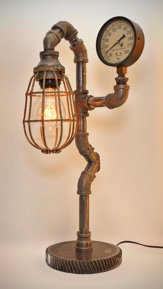 Populaire Best 25+ Industrial lamps ideas on Pinterest | Diy table lamps  SW61