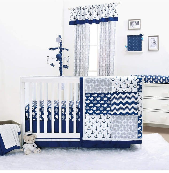 The Peanutshell Whale Nursery Collection Reviews Bedding