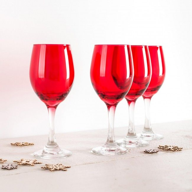 Celebrate the season in style! These festive wine glasses are perfect for sipping your favourite wine at family dinners this holiday season.    Whether you're looking for stocking stuffers, Secret Santa presents, festive Christmas decor or even gift cards, we have a huge selection of unique holiday stuff to make your days and nights merry and bright.