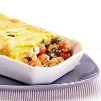 Recept - Pastei met kip en groenten - Allerhande
