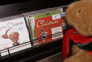 Christmas Adventures of Bing the Library Bear #16. Bing listens to Bing (Crosby).