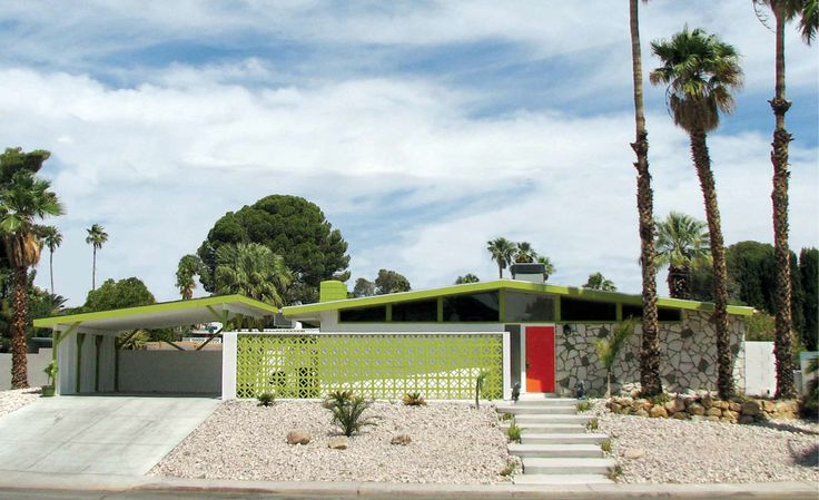Mid century Las Vegas atomic ranch house