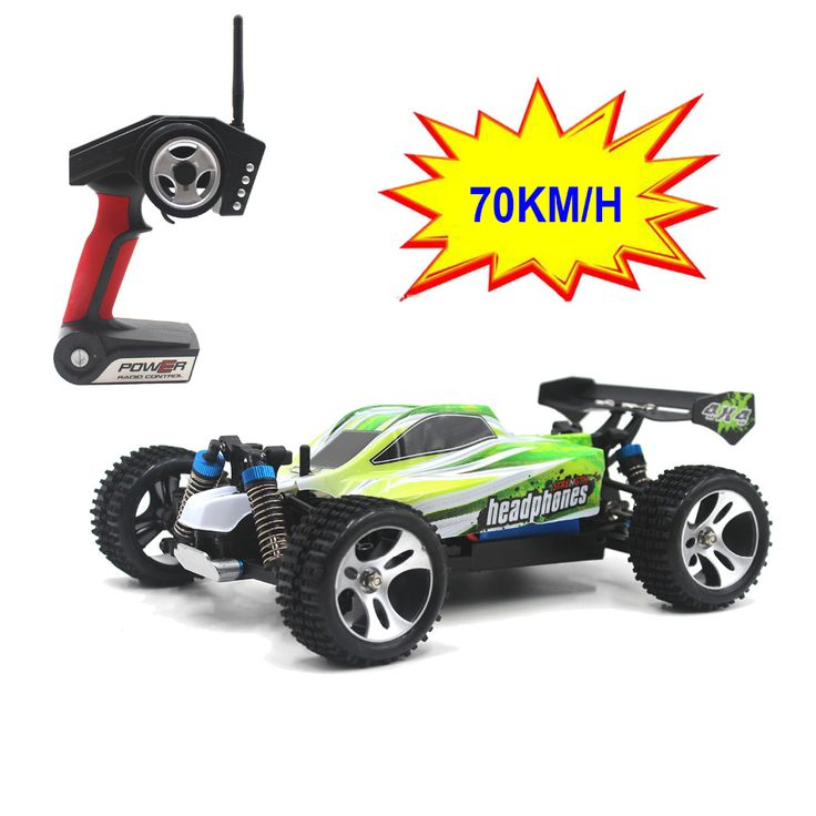 70KM/H New Arrival 1:18 4WD RC Car JJRC A959 Updated Version A959-B 2.4G Radio Control Truck RC Buggy Highspeed Off-Road A979 //Price: $122.28     #gadget