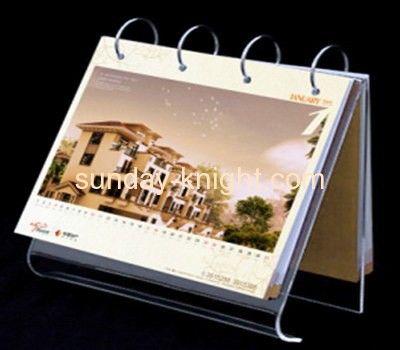 Acrylic products manufacturer customized acrylic desktop calendar holder ODK-130