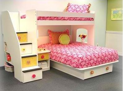 Berg Utica Loft Twin Over Full Loft Bed
