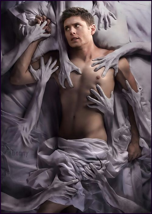 Wow. #Dean Winchester. Now, THAT'S some fan art.
