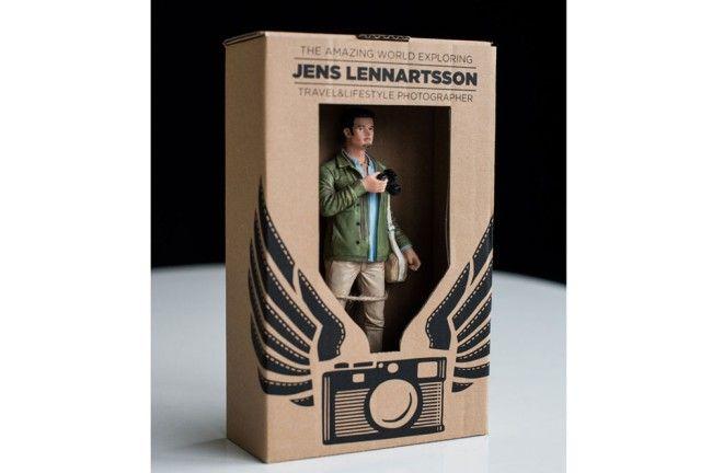 Des figurines à son effigie en guise de CV  - © golem13.fr - De belles idées marketing!
