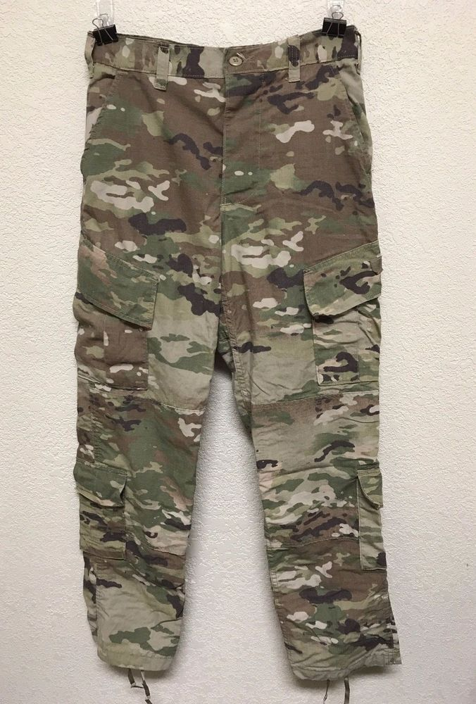 SCORPION OCP W2 FLAME RESISTANT INSECT GUARD, ARMY COMBAT UNIFORM TROUSER, S/R