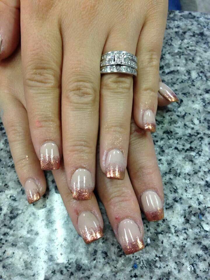 32 best NAILS: Glitter & Sparkle Nails images on Pinterest   Hair ...