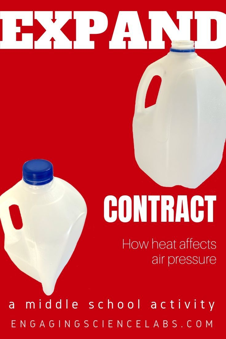 Air Pressure Heat Causes Air To Expand An Activity To Show This