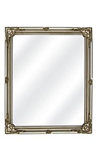 RESIN VICTORIAN 68,5X65,5CM RECTANGLE MIRROR