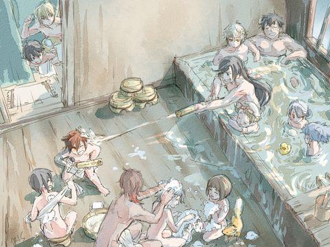 「本日も本丸は平和です」/「ロビンソン」の漫画 [pixiv]