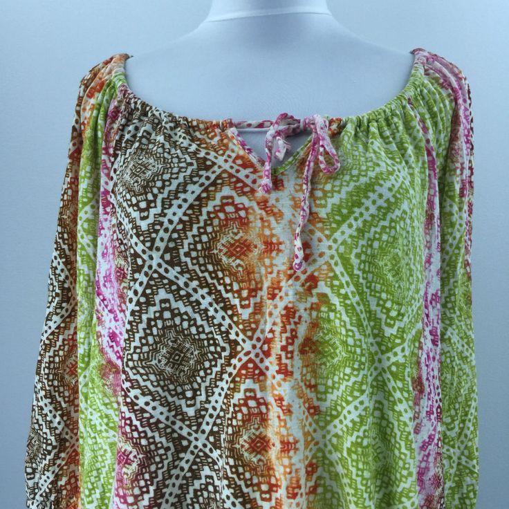 Jones New York Woman's Multi Color Shirt Size XL   eBay