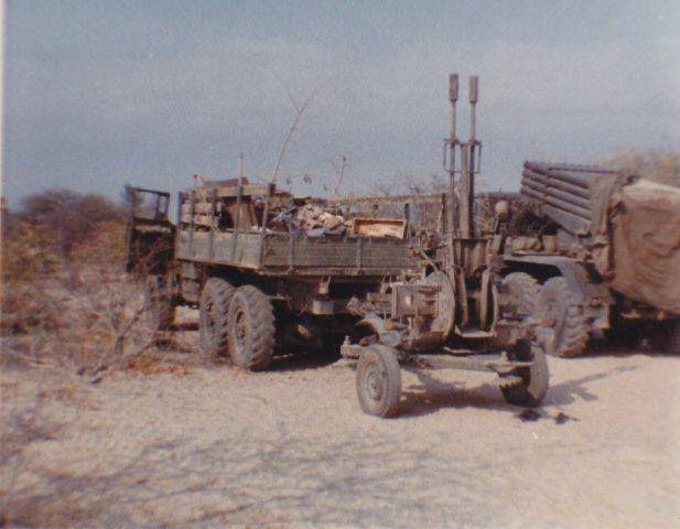 FAPLA war spoils for SADF many items.