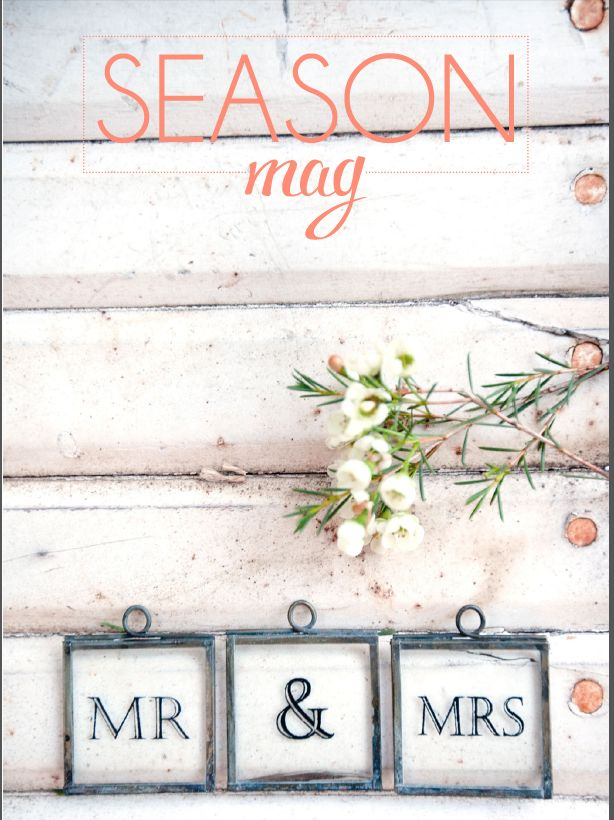 SPRING ISSUE COVER - THE ENGAGEMENT http://issuu.com/seasonmag/docs/seasonmag_springloveissue2014