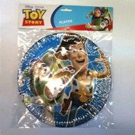 Plates Toy Story 3 Pkt8 $8.95 A067243